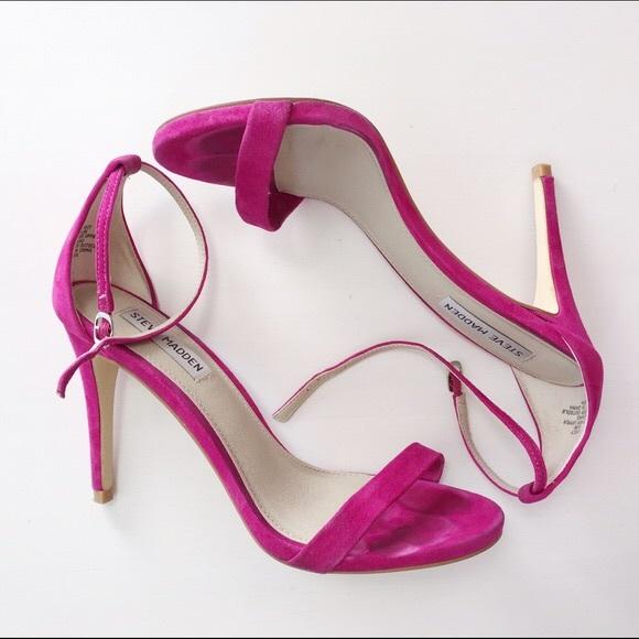 Steve Madden Pink Stecy Heels